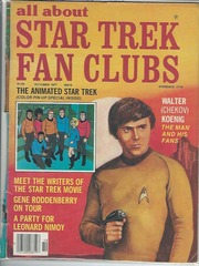 all about Star Trek Fan Clubs #5 © October 1977
