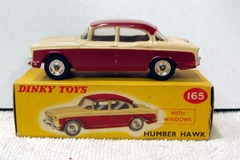 Humber Hawk © 1960s Dinky Toy 165 w/ Box