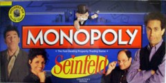 Seinfeld Monopoly © 2009 USAopoly Collector's Edition