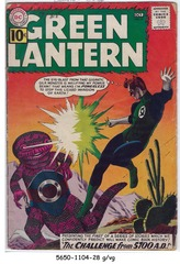 GREEN LANTERN #008 © September-October 1961DC Comics