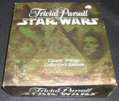 Trivial Pursuit Star Wars  Classic Trilogy Collector's Ed. © 1997 Parker Brothers