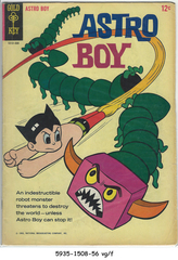 Astro Boy #1 © August 1965 Gold Key