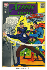 ACTION COMICS #356 © 1967 DC Comics