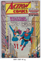 ACTION COMICS #285 © 1962 DC Comics