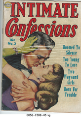 Intimate Confessions #2 © September-October 1951 Realistic Comics