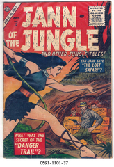 Jann of the Jungle #12 © July 1956 Atlas