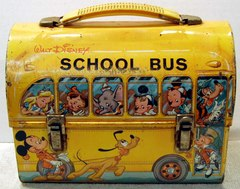 DISNEY'S SCHOOL BUS DOME © 1960s Aladdin