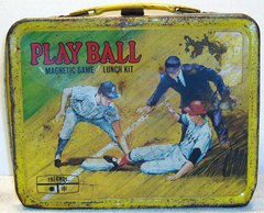 Play Ball Magnetic Game Lunch Box © 1969 Keng Seeley
