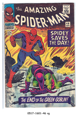 Amazing Spider-Man #040 © September 1966 Marvel Comics