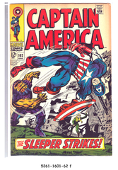 Captain America #102 © June 1968 Marvel Comics