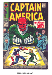 Captain America #103 © July 1968 Marvel Comics