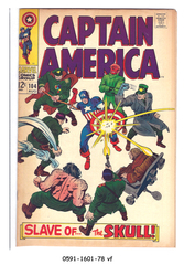 Captain America #104 © August 1968 Marvel Comics