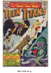 Teen Titans #01 © February 1966 DC Comics