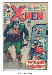 The X-Men #040 January 1968 Marvel Comics