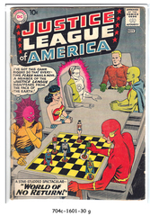 JUSTICE LEAGUE of AMERICA #001 © November 1960 DC Comics