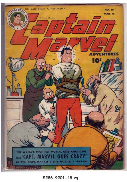 Captain Marvel Adventures #056 © March 1946 Fawcett Magazine