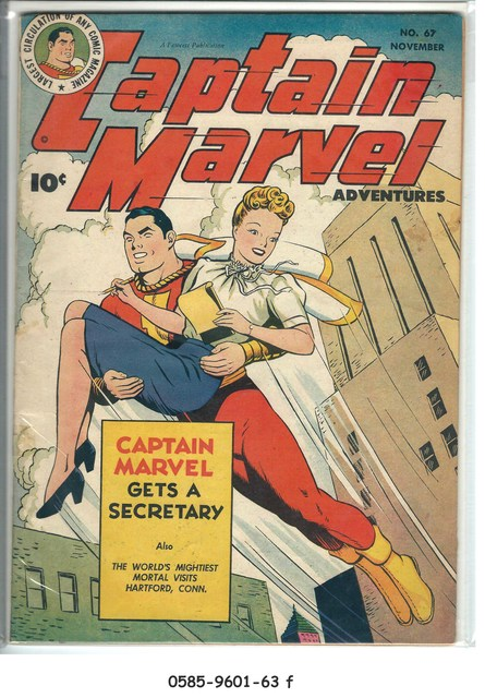 Captain Marvel Adventures #067 © November 1946 Fawcett Magazine
