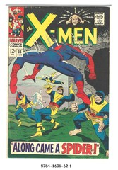 The X-Men #035 © August 1967 Marvel Comics