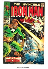 Iron Man #004 © August 1968 Marvel Comics