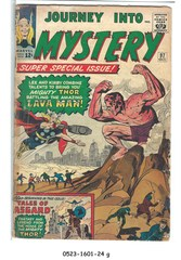 Journey into Mystery #097 © October 1963 Marvel Comics