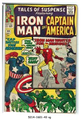 Tales of Suspense #060 © December 1964 Marvel Comics