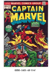 Captain Marvel #27 © July 1973 Marvel Comics