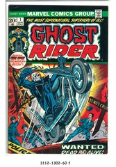 Ghost Rider #01 © September 1973 Marvel Comics
