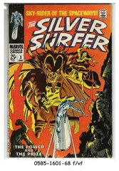 The Silver Surfer #03 © December 1968 Marvel Comics