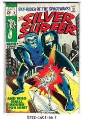 The Silver Surfer #05 © April 1969 Marvel Comics