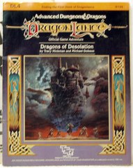 Dragon Lance DL4 Dragons of Desolation © 1984 tsr9139