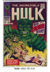 The Incredible Hulk #102 © April 1968 Marvel Comics