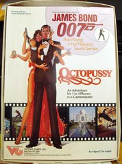 James Bond 007 Octopussy RPG Adventure © 1983 Victory Games #35004