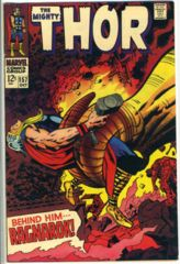 THOR #157 © October 1968 Marvel Comics