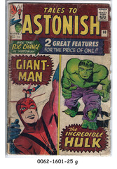 Tales to Astonish #060 © October 1964 Marvel
