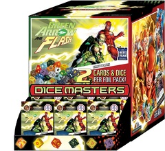 DC Dice Masters: Green Arrow and The Flash - Gravity Feed Display