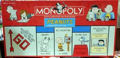 Monopoly Peanuts Collector's Edition © 2002 USAopoly w/ Pewter Figures