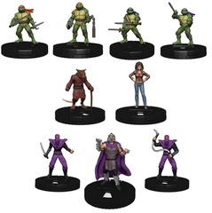 Teenage Mutant Ninja Turtles HeroClix: Heroes in a Half Shell Fast Forces Pack