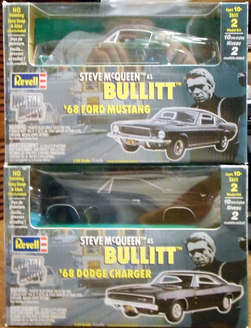 Steve McQueen Bullitt Cars 1968 Mustang & Charger © 2000