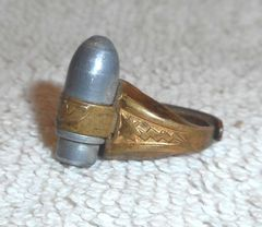 Lone Ranger Atomic Bomb Ring © 1947 Kix Cereal