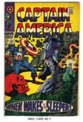 Captain America #101 © May 1968 Marvel Comics