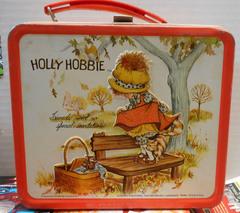 Holly Hobbie Lunch Box © Aladdin 1970's