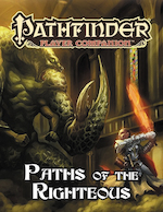 Pathfinder Player Companion: Paths of the Righteous © 2016