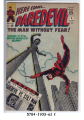 DAREDEVIL #008 © June 1965 Marvel Comics