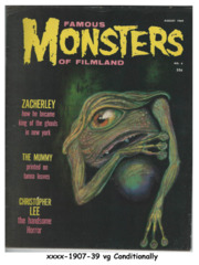 Famous Monsters of Filmland #004 © August 1959, Warren Publishing