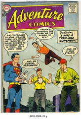 ADVENTURE COMICS #254 © 1958 DC Comics