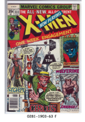 The X-Men #111 © June 1978, Marvel Comics