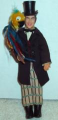 Doctor Dolittle & Polynesia Parrot © 1967 Mattel
