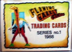 FLAMING CARROT Card Set © 1988 Comic Images