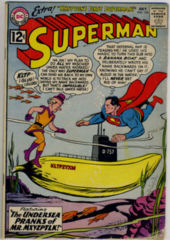 SUPERMAN #154 © July 1962 DC Comics