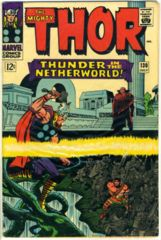 THOR #130 © July 1966 Marvel Comics